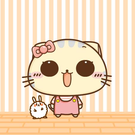超萌的小猫qq可爱卡通头像