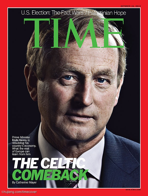time《时代》杂志封面 the celtic come back——.