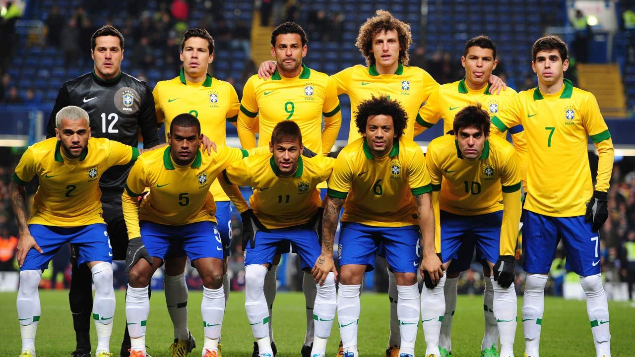 2014世界杯巴西阵容